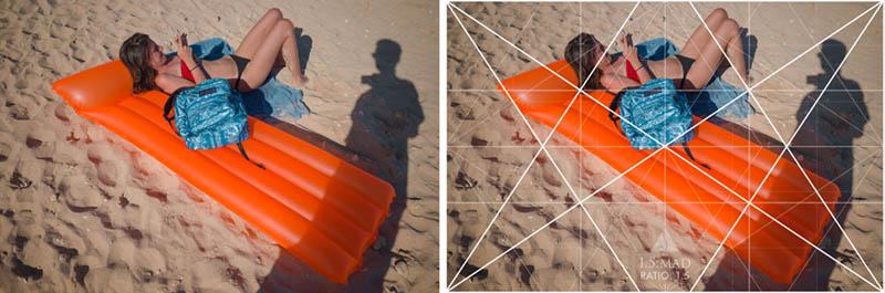Street Photography and Ricoh GR III-3-Waikiki Hawaii-_T002020-girl-on-float-with-grid