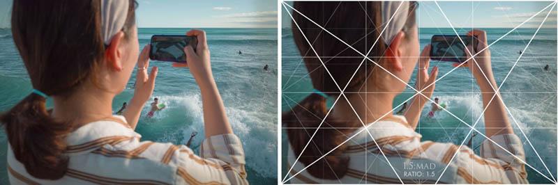 Street Photography and Ricoh GR III-3-Waikiki Hawaii-_T002125-shooting-through-arm-with-grid