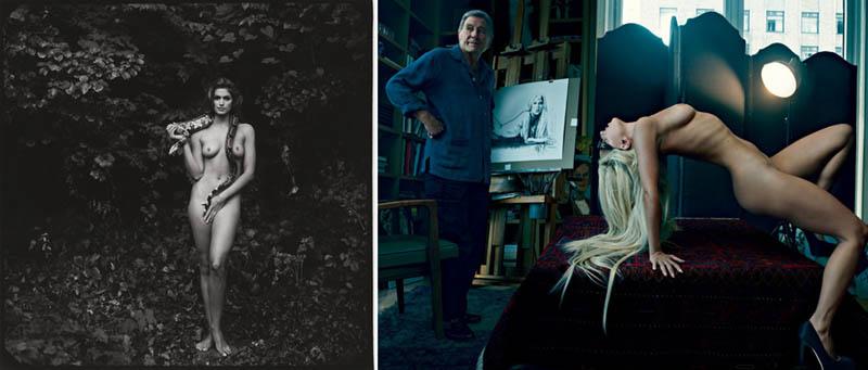 Nudity in Art-Michelangelo and More-annie leibovitz comparison-2