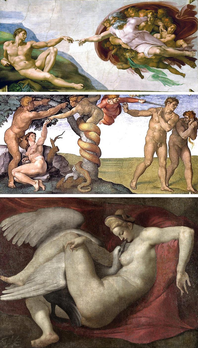 Nudity-in-Art-Michelangelo-paintings-and-sistine-chapel
