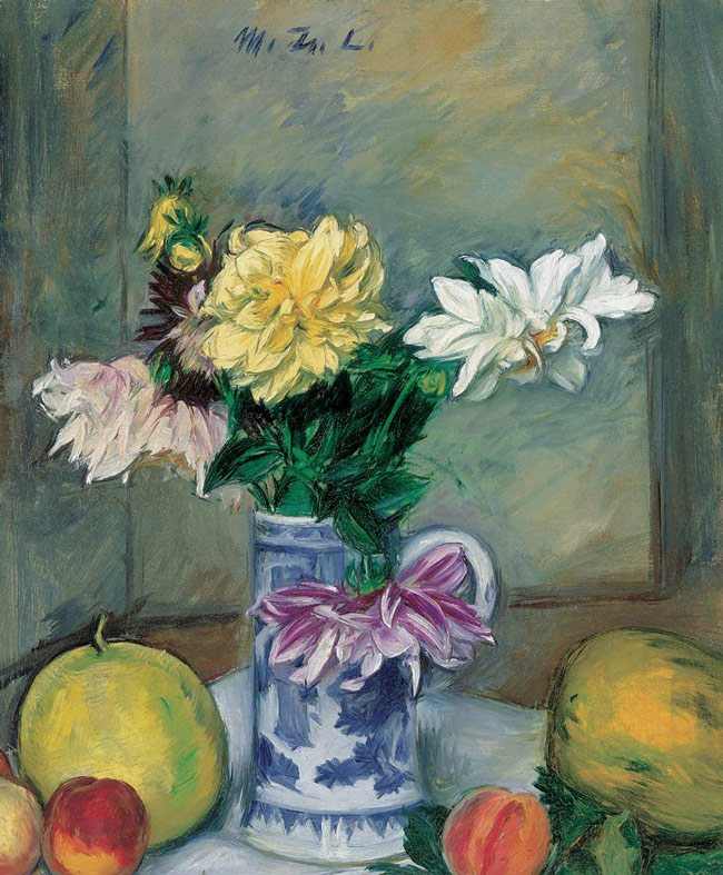 M.-Zsolnay_Flower_Still-life_with_Apricots