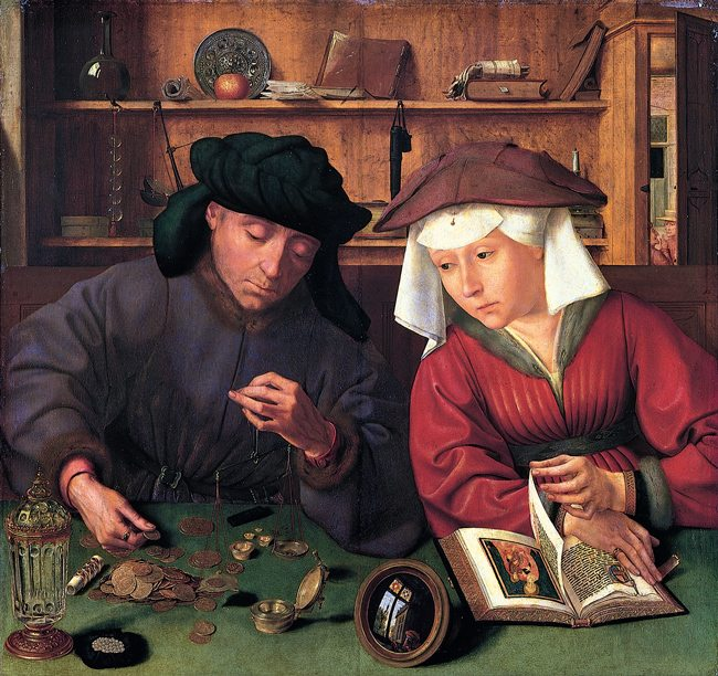 Quentin_Matsys_Banker-and-Wife