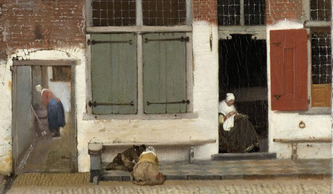 Vermeer-Little-Street-detail