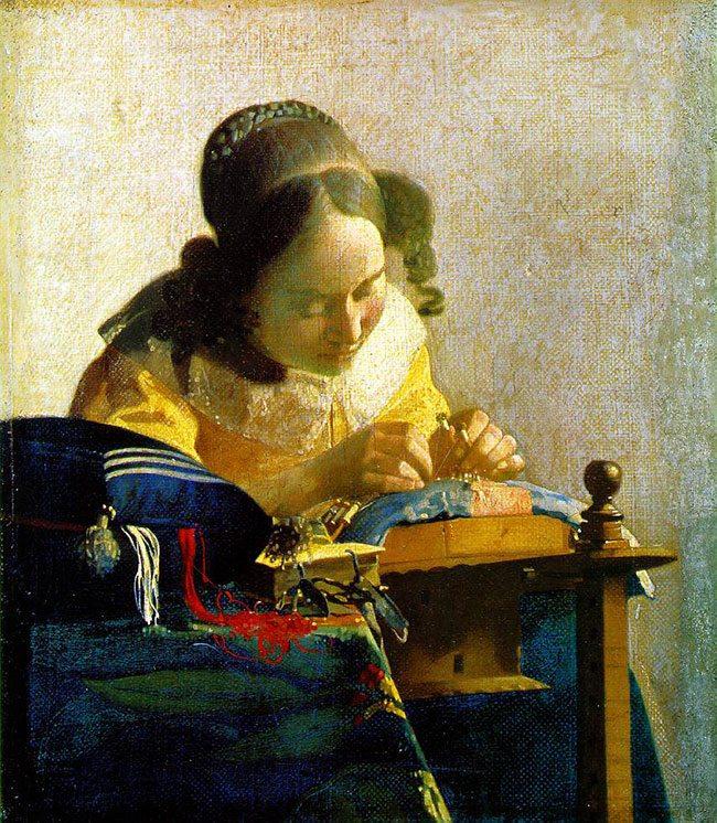 Vermeer-lacemaker