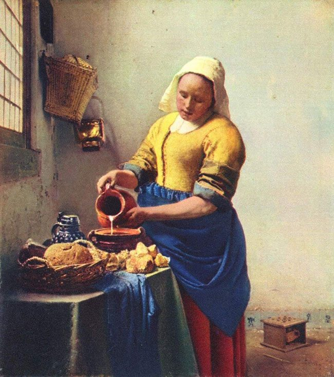 Vermeer-the-Milkmaid