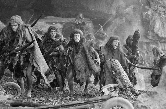 Cavemen-scared