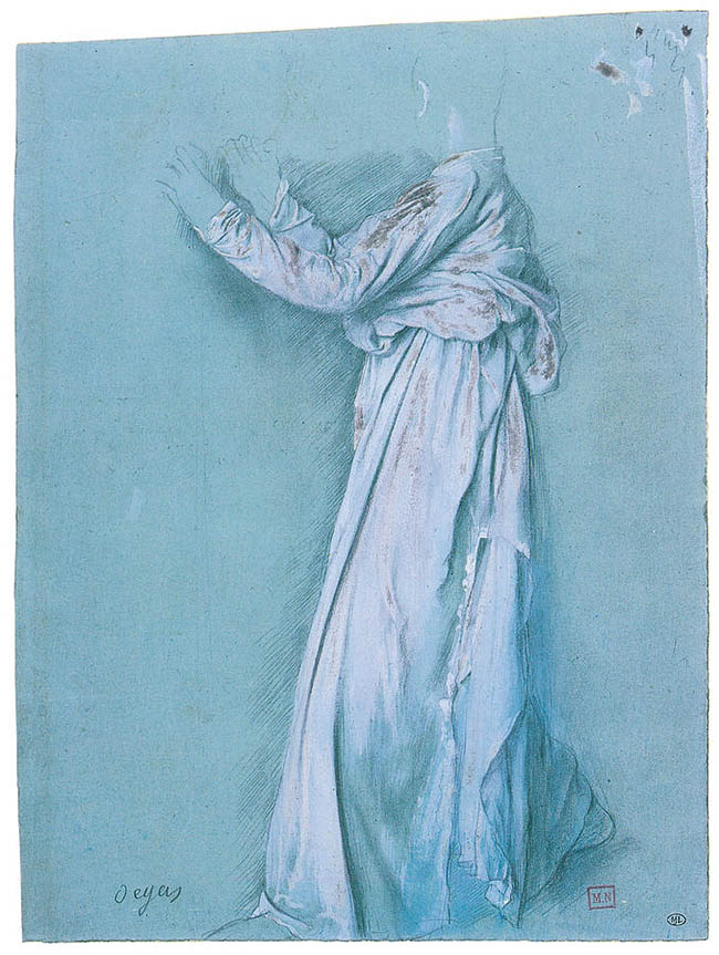 standing-figure-drapery-study-edgar-degas