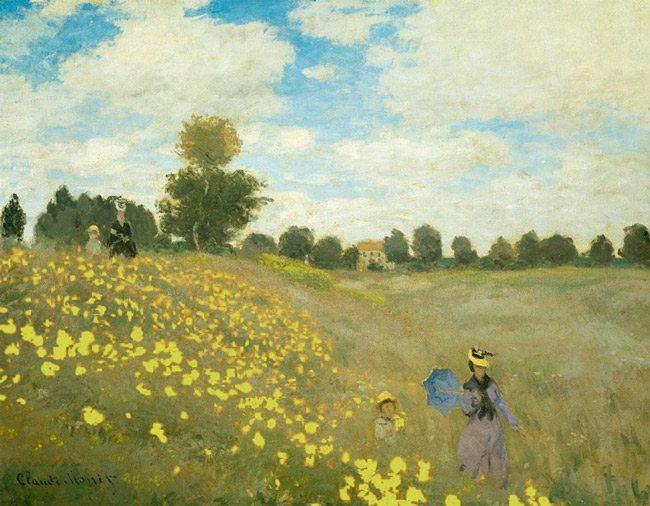 Claude_Monet-Das_Mohnfeld-warm
