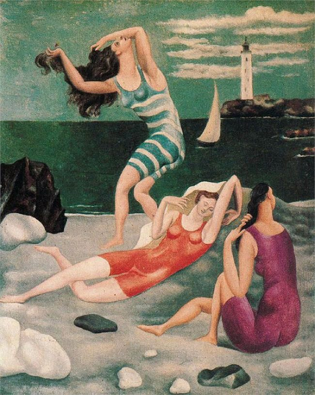 Picasso-Painting-bathers