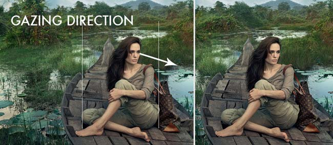 Mastering-Composition-with-Annie-Leibovitz-angelina-gazing-direction-3-2