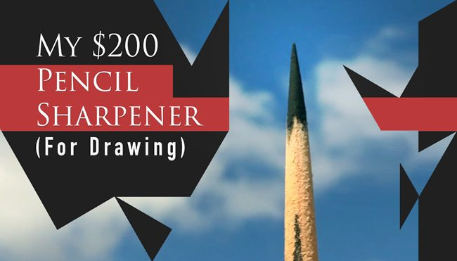 My-200-dollar-pencil-sharpener-for-drawing-blog-red