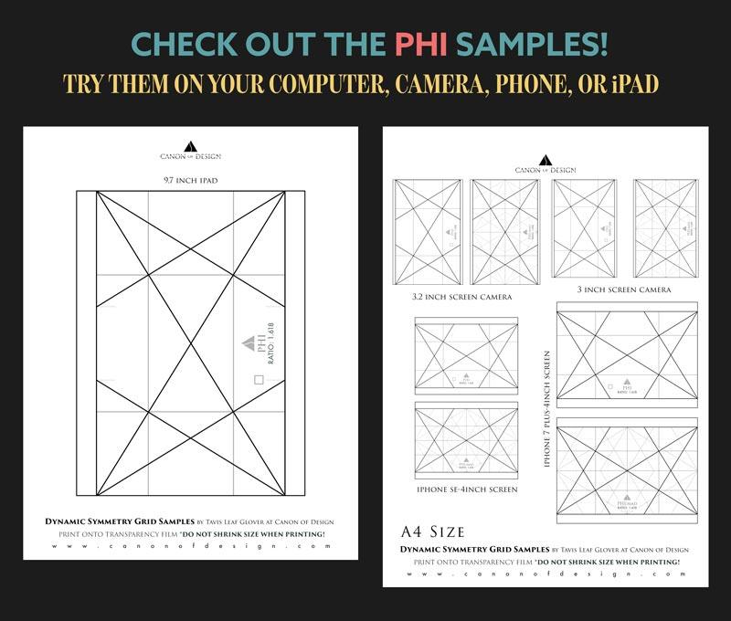 Dynamic Symmetry Phi Samples By Tavis Leaf Glover