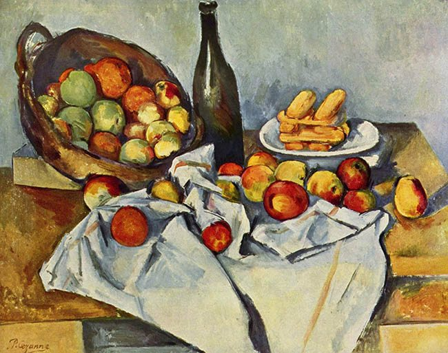 Law-of-SImiliarity-Gestalt-psychology-Cezanne-still-life-with-bottle-and-apple-basket-1894
