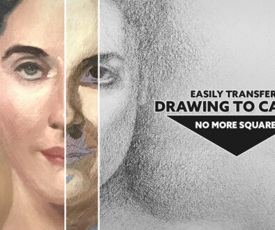Easily Transfer a Drawing to Canvas-No More Squares-Easily Transfer a Drawing to Canvas-No More Squares-intro