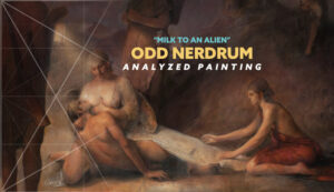 Odd-Nerdrum-milk-to-an-alien-analyzed-painting-intro