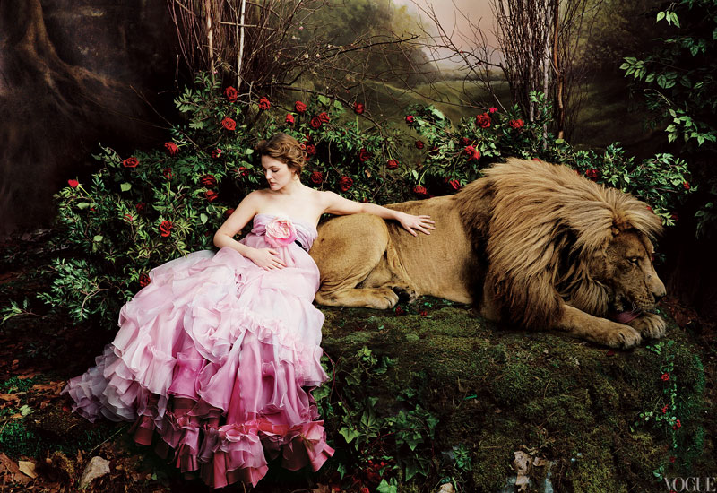 Annie-Leibovitz-complementary-colors-lion