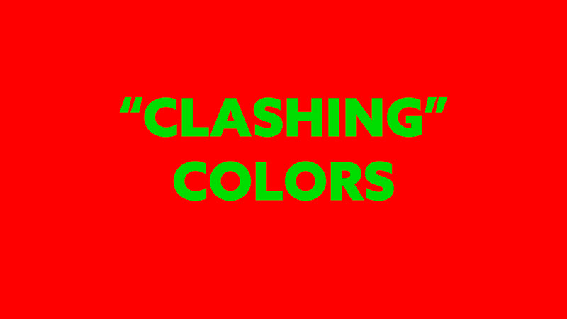 Complementary-Colors-Myth-Clashing-colors-red-and-green-intense