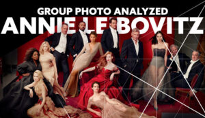 Annie-Leibovitz-Group-Photo-Analyzed-Red-intro-Composition Analyzed