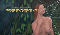 Controlling Contrast-Magnetic Momentum-Wolf-and-Nymphs-composition-painting-by-Tavis-Leaf-Glover-intro