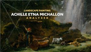 Achille-Etna-Michallon-Met-intro-landscape painting analyzed