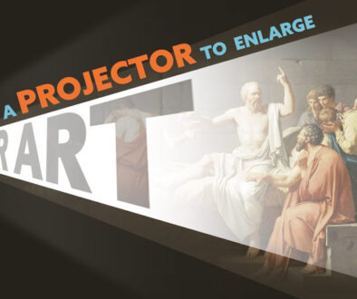 Using a projector to enlarge your art-intro