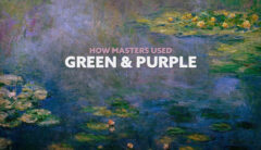 How Masters used Green and Purple-intro