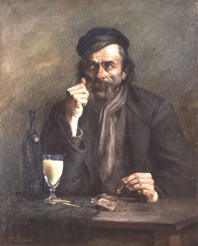 Mastering Composition with Absinthe Paintings012Alfred Brisard
