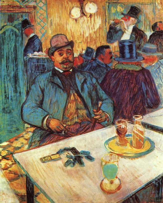 Mastering Composition with Absinthe Paintings024Lautrec
