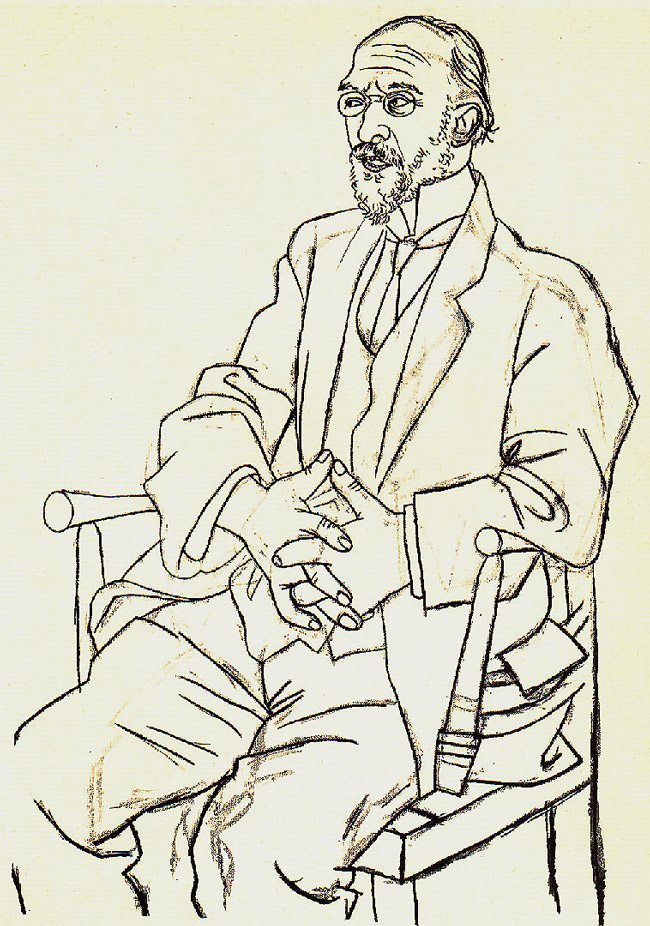 mastering-composition-with-pablo-picasso-portrait-of-erik-satie-1920