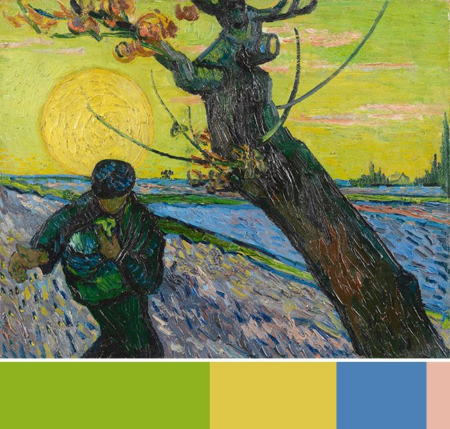 Mastering Composition with Van Gogh Color Theory- Van Gogh Museum-003