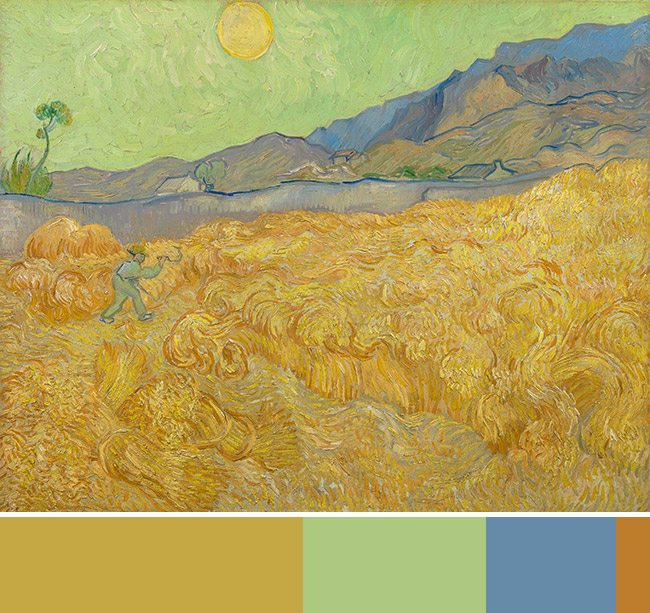 Mastering Composition with Van Gogh Color Theory- Van Gogh Museum-008