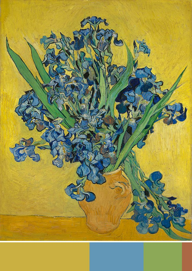 Mastering Composition with Van Gogh Color Theory- Van Gogh Museum-009