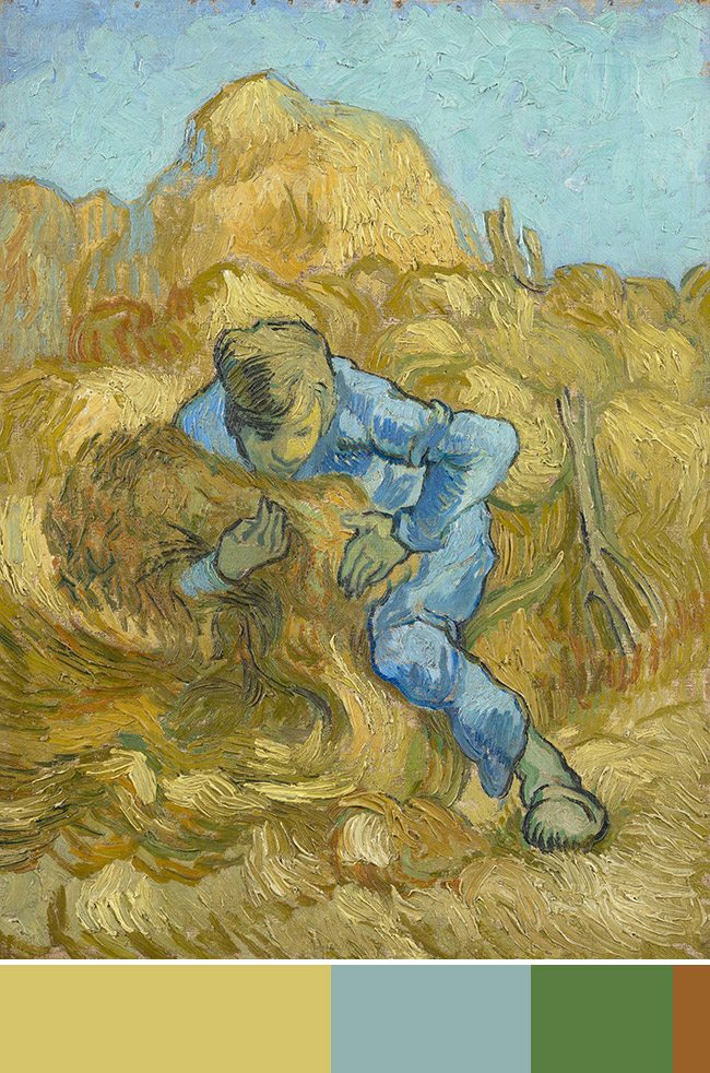 Mastering Composition with Van Gogh Color Theory- Van Gogh Museum-014