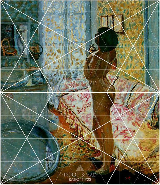 Mastering Composition - Henri Cartier-Bresson using Dynamic Symmetry - Proof-009-Pierre Bonnard stacked root 3 grids