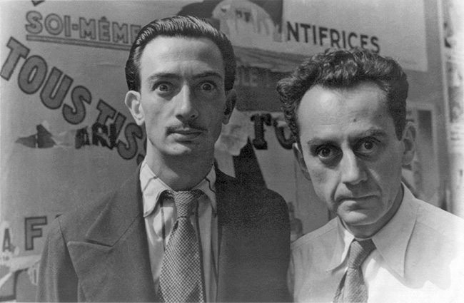 Mastering Composition - Henri Cartier-Bresson using Dynamic Symmetry - Proof-035-Dali and Man Ray